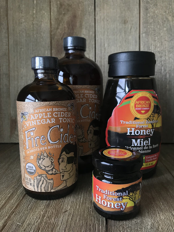 Honey |  African Bronze Honey | 500 g (17.6 oz) | squeeze bottle
