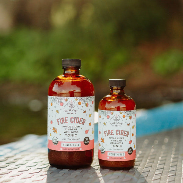 Fire Cider | 16 oz | Honey-Free | Apple Cider Vinegar and Spice Tonic