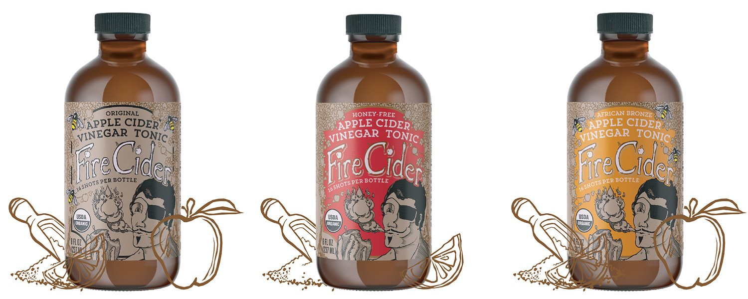 Fire Cider comes in 3 flavors: Original, Honey-Free and African Bronze. Which will you choose?