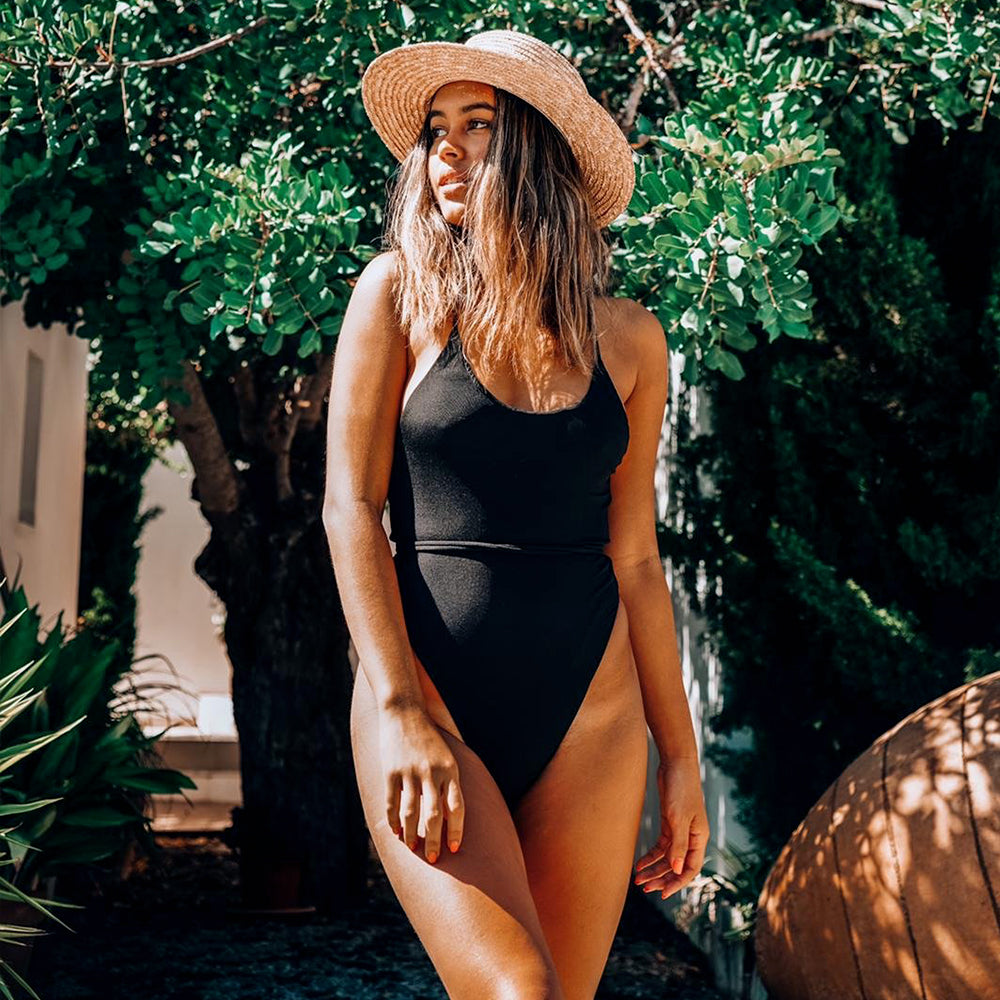 St Tropez One Piece Noir