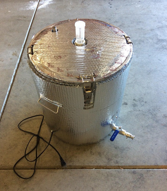 UniVessel Fermenter Modified as Dedicated Souring Kettle