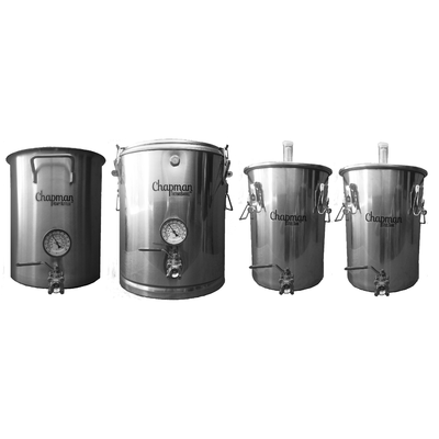 Mash Tun Chapman Brewing ThermoBarrel Fermenter Kettle