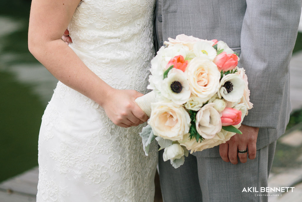 Anemone and Tulip Bouquet - The Blooming Idea Florst - The Woodlands, Texas