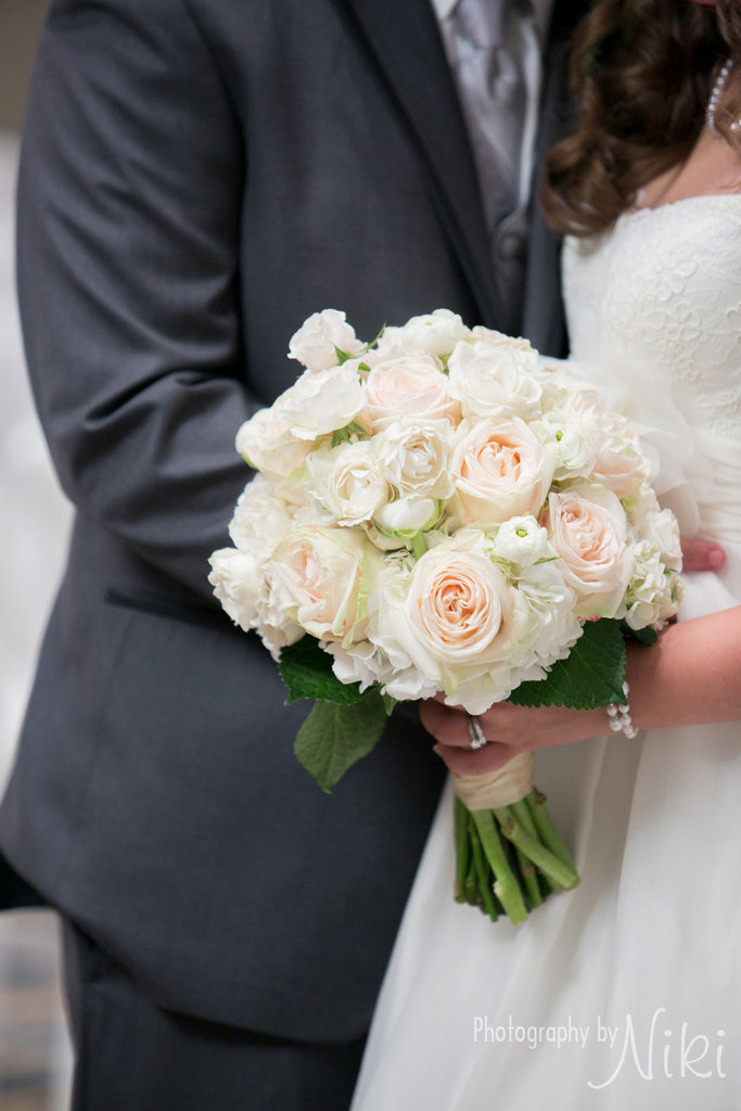 Blush Rose and Ranuncula Bouquet - The Blooming Idea Florst - The Woodlands, Texas