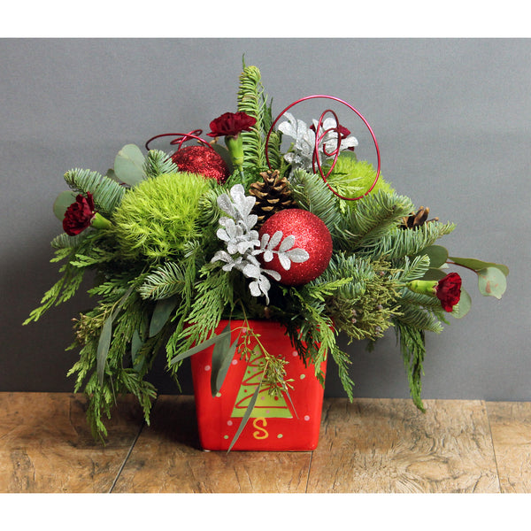 Merry Little Christmas - The Blooming Idea Florst - The Woodlands, Texas