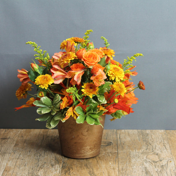 Autumn Fire - The Blooming Idea Florst - The Woodlands, Texas