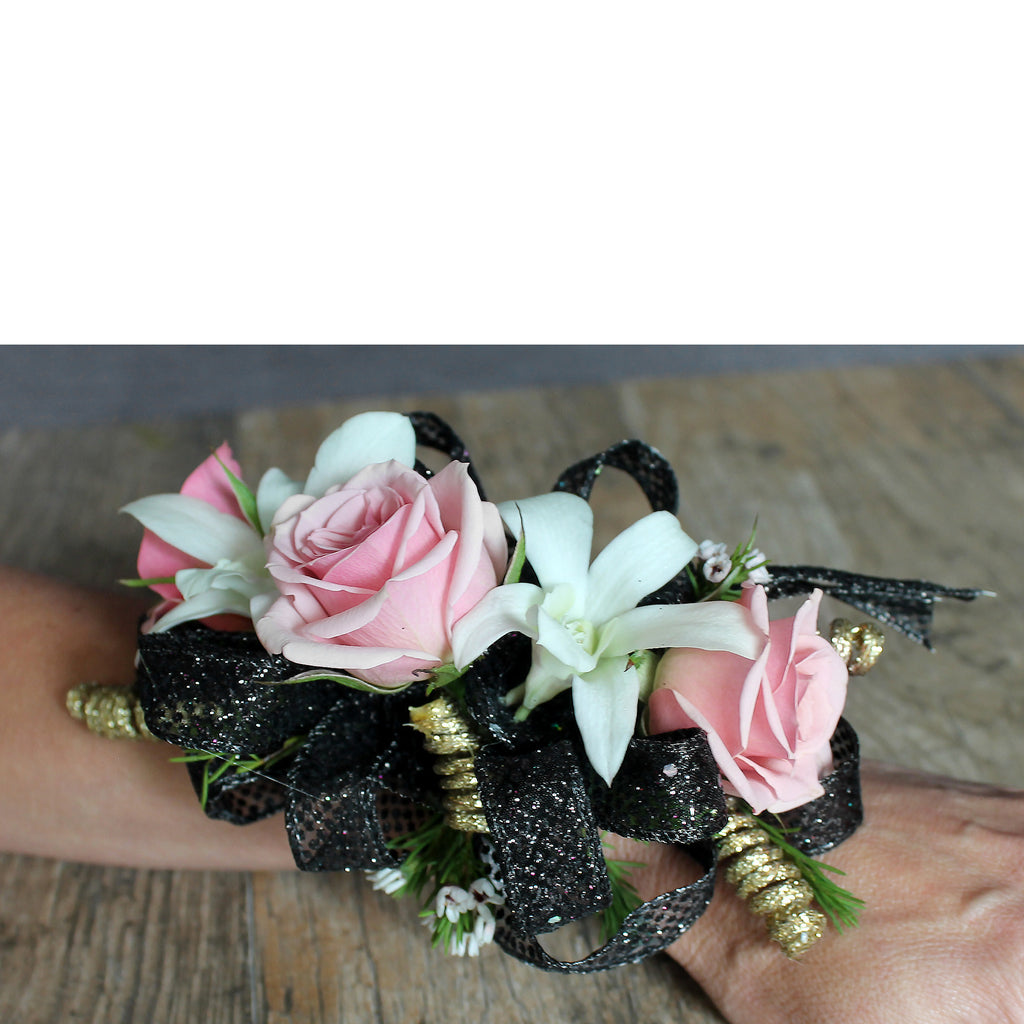 $55 Corsage - The Blooming Idea Florst - The Woodlands, Texas
