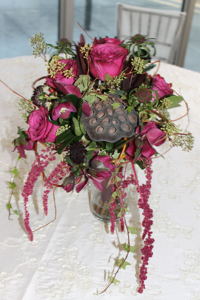 Berry Beautiful Bouquet - The Blooming Idea Florst - The Woodlands, Texas