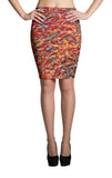 All-Over Design Skirt -- 24-Hour Circus