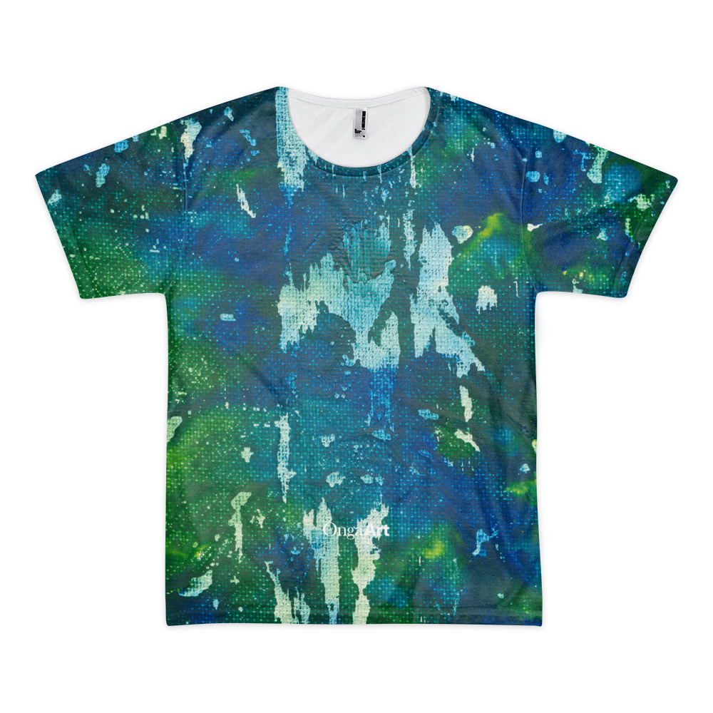 Blue Crayons All-Over Unisex T-Shirt