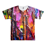 Crayons All-Over Unisex T-Shirt