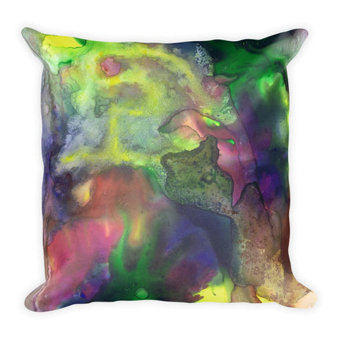 Dark Swirls Pillow