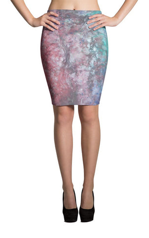 All-Over Design Skirt -- Flow