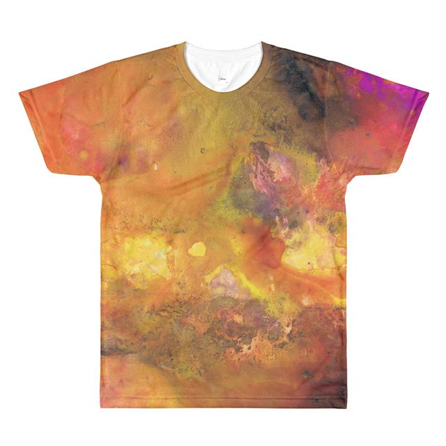All-Over Design Men's/Unisex T-shirt -- Flow v2.3