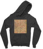 California Fleece Zip Hoodie Texture04