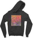 California Fleece Zip Hoodie Wisdom Goddess