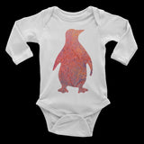 Baby Onesie - Penguin Long-Sleeved