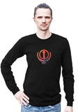Adi Shakti -- Any Gender Long Sleeved Shirt with Symbol