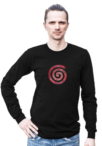 Spiral -- Any Gender Long Sleeved Shirt with Symbol