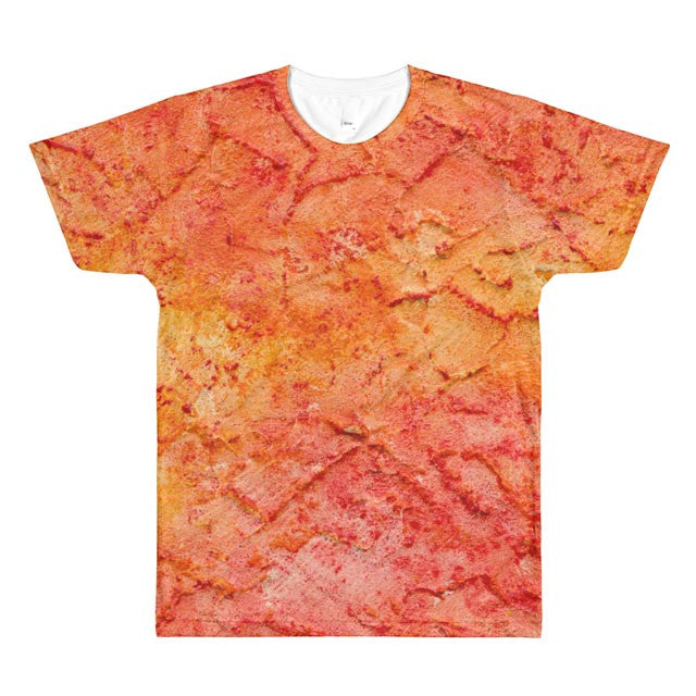 All-Over Design Men's/Unisex T-shirt -- Texture02