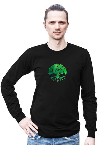 Tree of Life -- Any Gender Long Sleeved Shirt with Symbol