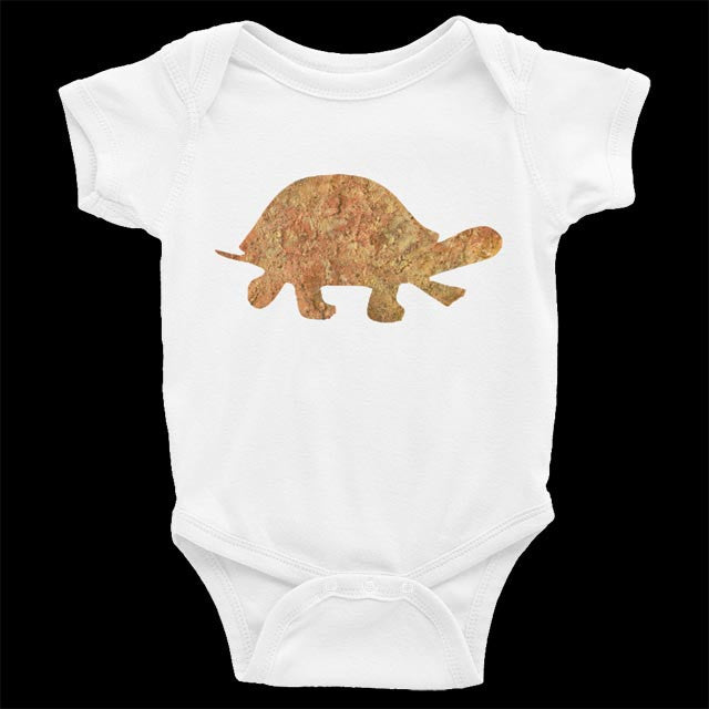 Baby Onesie - Turtle Short-Sleeved