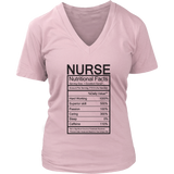 Funny Nurse Nutritional Facts Mug (Tees, Hoodies & V-Necks)