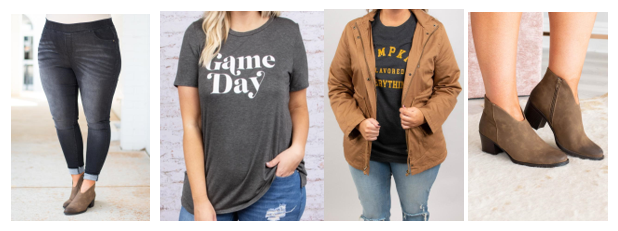Game Day: 4 Plus Size Outfits to Wear During Football Season