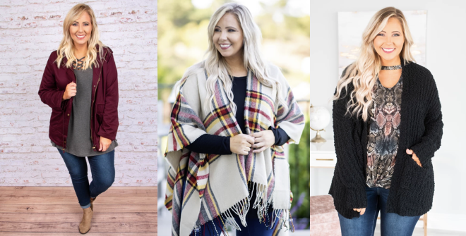 8 Essentials for Curvy Size Fall Fashion