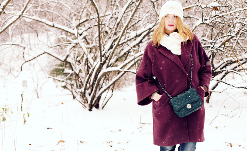 6 of Our Favorite Curvy Girl Outfits for Snowy Weather