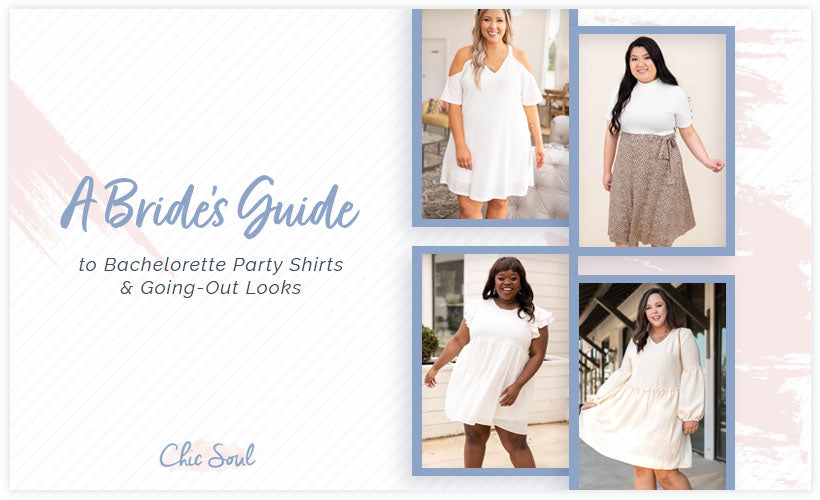 Brides Guide Bachelorette Party Shirts and Going-Out Looks