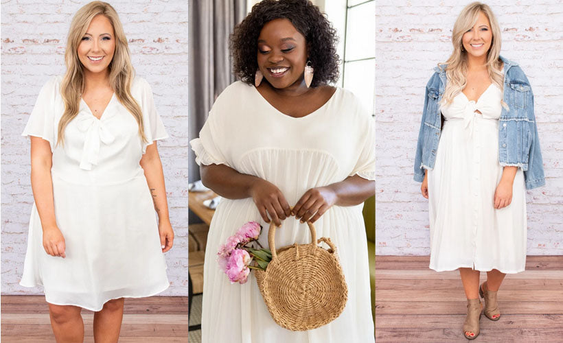 Casual Bridal Dresses Perfect for a Low-Key Wedding Ceremony