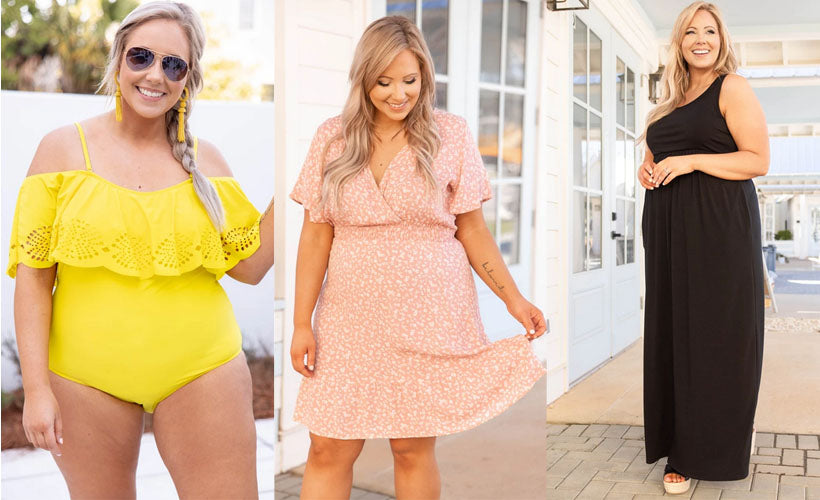 Cute Spring Clothes & Outfit Ideas for Curvy Girls