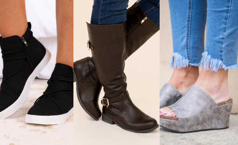 most flattering shoes for thick ankles