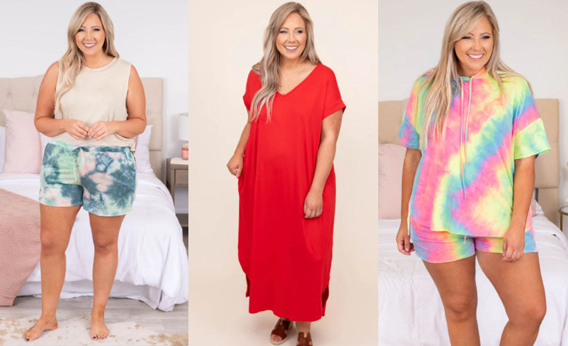 Plus Size Loungewear Perfect for Warm Weather