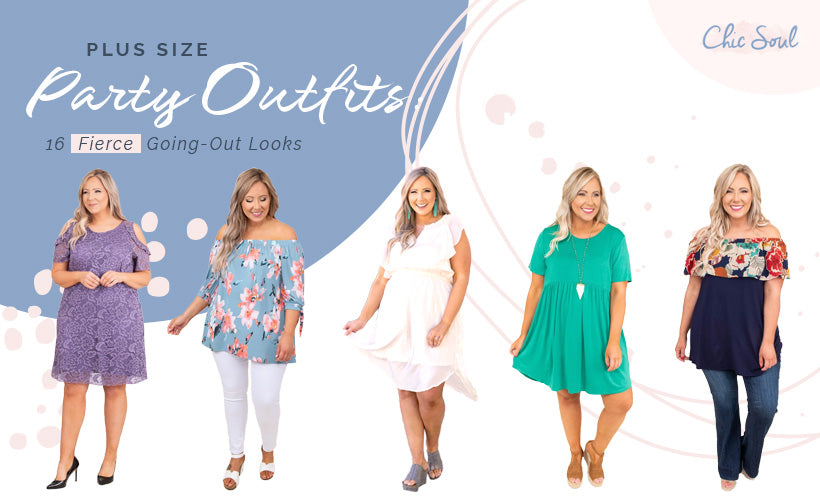 Plus Size Party Outfits 16 Fierce Going-Out Looks