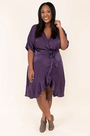 all my love dress purple