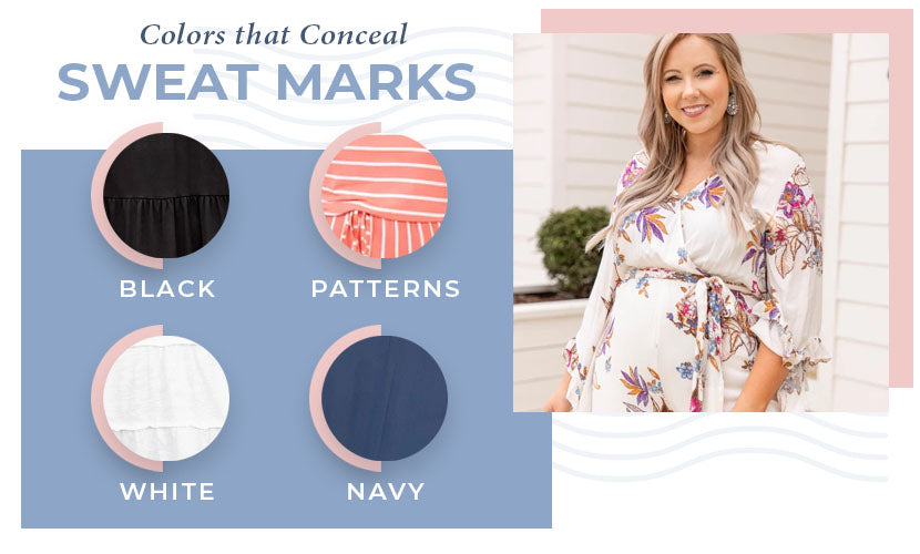 colors that conceal sweat marks