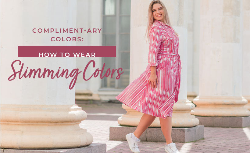 how to wear slimming colors