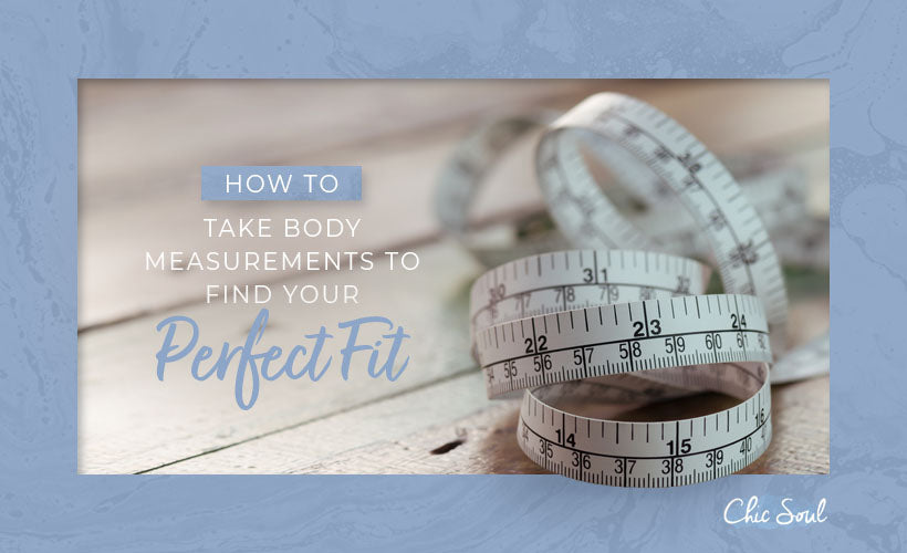 take body measurements for perfect fit