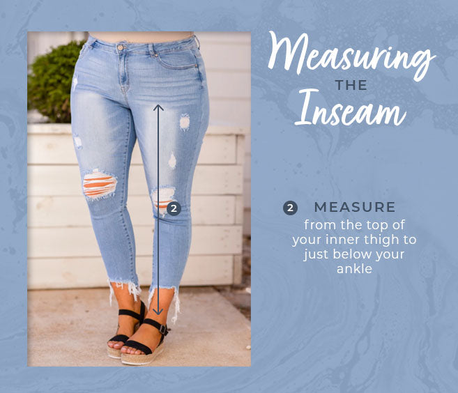 measuring the inseam graphic