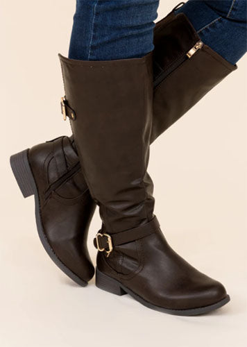 wander through aspen brown boots