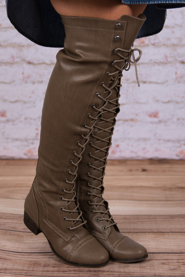 The Zeppelin Boots, Taupe