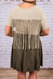 Fringe Benefits Top, Tan