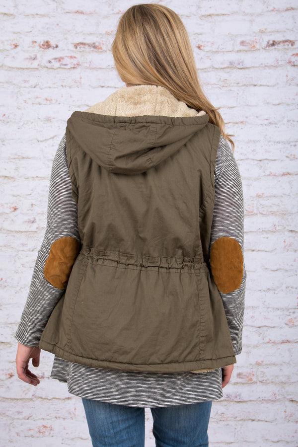 The Right Stuff Vest, Olive