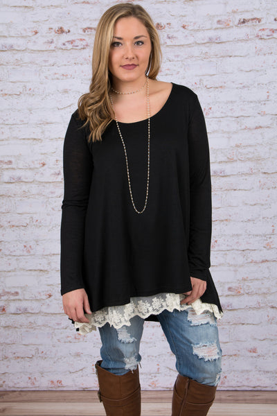 The Weekend Tunic, Black