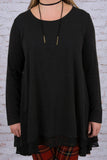 Lovestoned Tunic, Black
