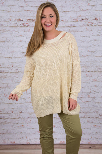 Right as Rain Sweater, Ivory