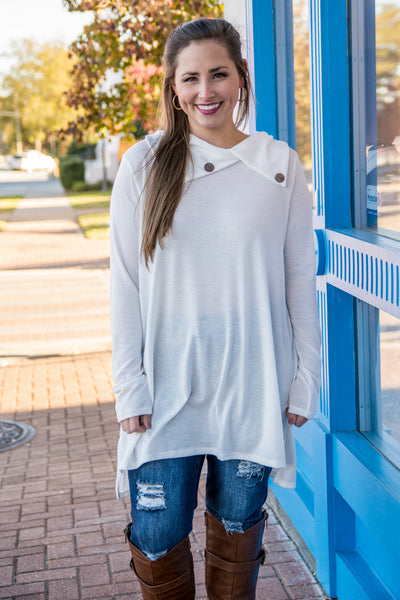 Perfect Example Tunic, Ivory