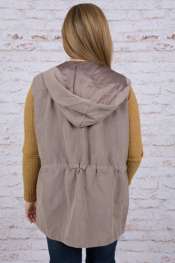 Smooth Moves Vest, Khaki